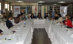 Discuten temas relacionados al sector audiovisual|Oñeñemongeta ta'ãnga oñehendu ha ojehechávare imagen