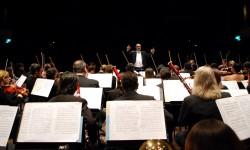 Músicos de la Sinfónica y del Conservatorio participan de festejos patrios en Buenos Aires|Sinfónica ha Conservatorio-pegua Puraheiharakuéra oĩ avei Guenosáire Vy'a guasúpe imagen