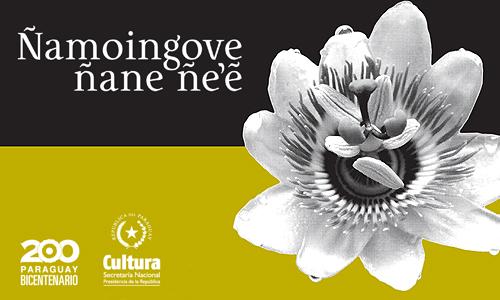 Concurso Nacional de Poesía Guaraní Ñamoingove ñane ñe'e imagen