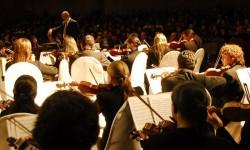 La Orquesta Sinfónica Nacional toca hoy en el colegio Goethe|Tetã Orquesta Sinfónica ombopu ko árape mbo'ehao Goethe-pe imagen