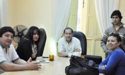 Reuniones en Ypacaraí para conformar un Comité de Patrimonio|Oiko aty Ypakaraípe oñemoheñói hag̃ua Comité Patrimonio rehegua imagen