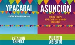 Puerto de Asunción y Estación de Ypacarai abiertos|Paraguay Puerto ha Estación de Ypakaraipegua oipe'a hokẽ imagen