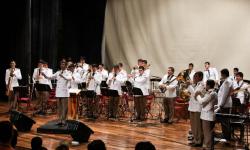 Banda de Músicos de la Policía Nacional da concierto aniversario imagen