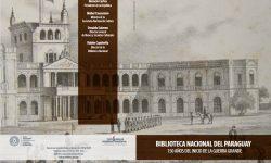 Tríptico: Biblioteca Nacional del Paraguay imagen