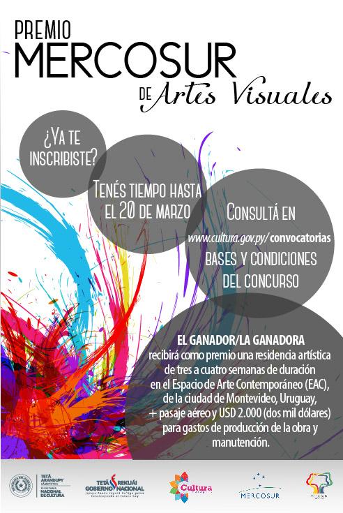 Premio MERCOSUR de Artes Visuales recibe inscripciones hasta este domingo imagen
