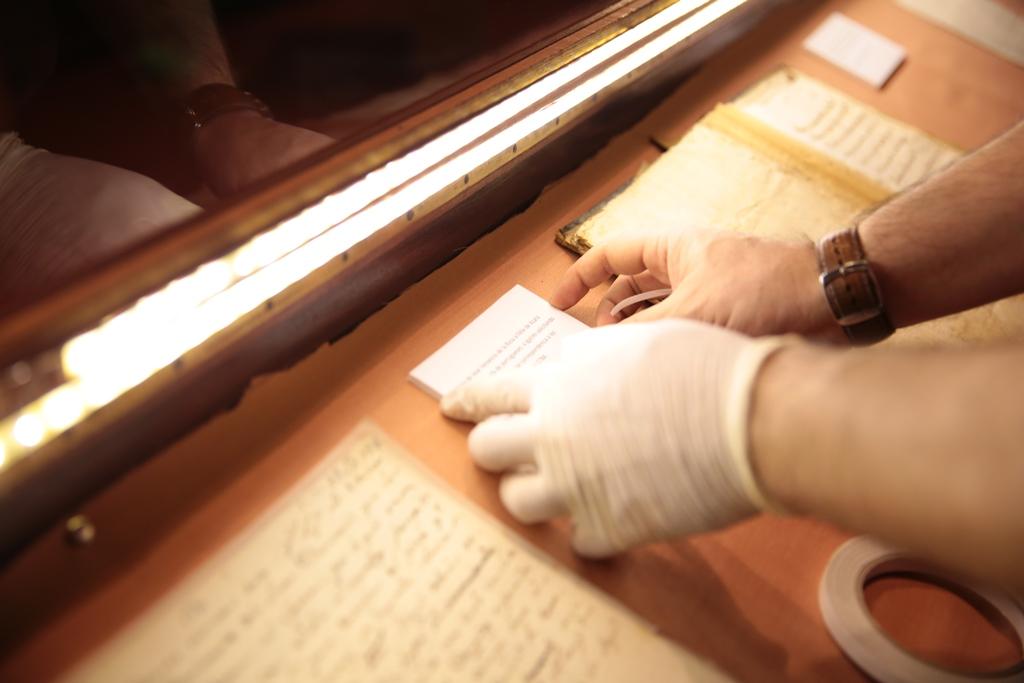Bibliotecarios y encargados de museos aprenderán a conservar y restaurar bienes culturales imagen