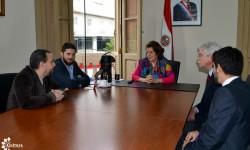 Canadiense experto en transporte y movilidad  visita el CHA en misión técnica