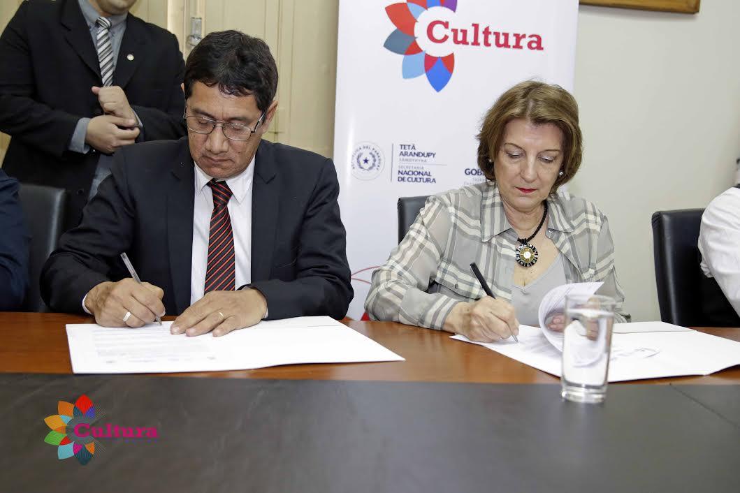 Municipalidad de Villa Hayes y Secretaría Nacional de Cultura, sellan alianza a fin de propiciar trabajos conjuntos imagen