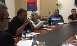 Ministro de Cultura se reúne con organizaciones de víctimas del Ycuá Bolaños