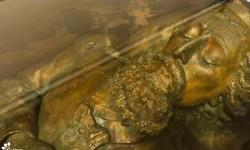 Cultura concluyó primera parte de la restauración del féretro de José Eduvigis Díaz imagen
