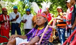 Acompañan fiesta cultural de la comunidad Quemkuket del pueblo Maká imagen