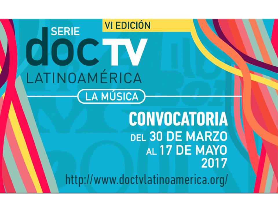 Convocatoria DOCTV Latinoamérica vigente al 17 de mayo: La Música será tema para documentalistas imagen