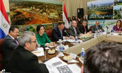 Ministros e Intendente se reúnen para fortalecer acciones en el Centro Histórico de Asunción imagen