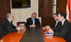 Ministro Griffith recibe a Embajador español imagen