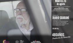 Proyectarán película Diario Guaraní en el Museo de Bellas Artes imagen