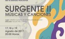 Surgente II, ciclo de conciertos de la Banda Nacional de la SNC imagen