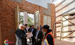 Comitiva de Cultura visita obra en el marco de la Ley de Protección del Patrimonio imagen