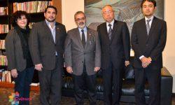 Ministro de Cultura recibe al nuevo embajador de Japón imagen