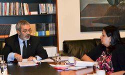 Cultura y Comisión del Senado analizan mecanismos de cooperación recíproca imagen