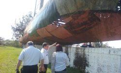 Comitiva de SNC y de la Armada Nacional visitaron Vapor Cué imagen