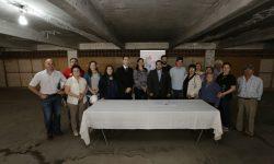 Firman acta de inicio de obras para el Memorial y Centro Cultural 1A imagen