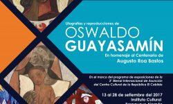 Harán visita guiada a la muestra del ecuatoriano Guayasamín imagen