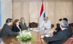 SNC presentó al presidente del Congreso la Red de Planificadores y Administradores del Paraguay imagen