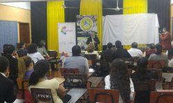 Ministro Griffith brinda conferencia sobre el Doctor Francia en la Universidad Nacional de Itapúa imagen