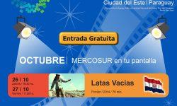 Proyectan películas de la Red de Salas Digitales del MERCOSUR en Ciudad del Este imagen