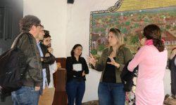 La histórica Casa de la Independencia recibió visita de periodistas españoles imagen
