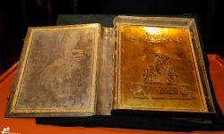 Exhibirán Libro de Oro en el Archivo Nacional imagen