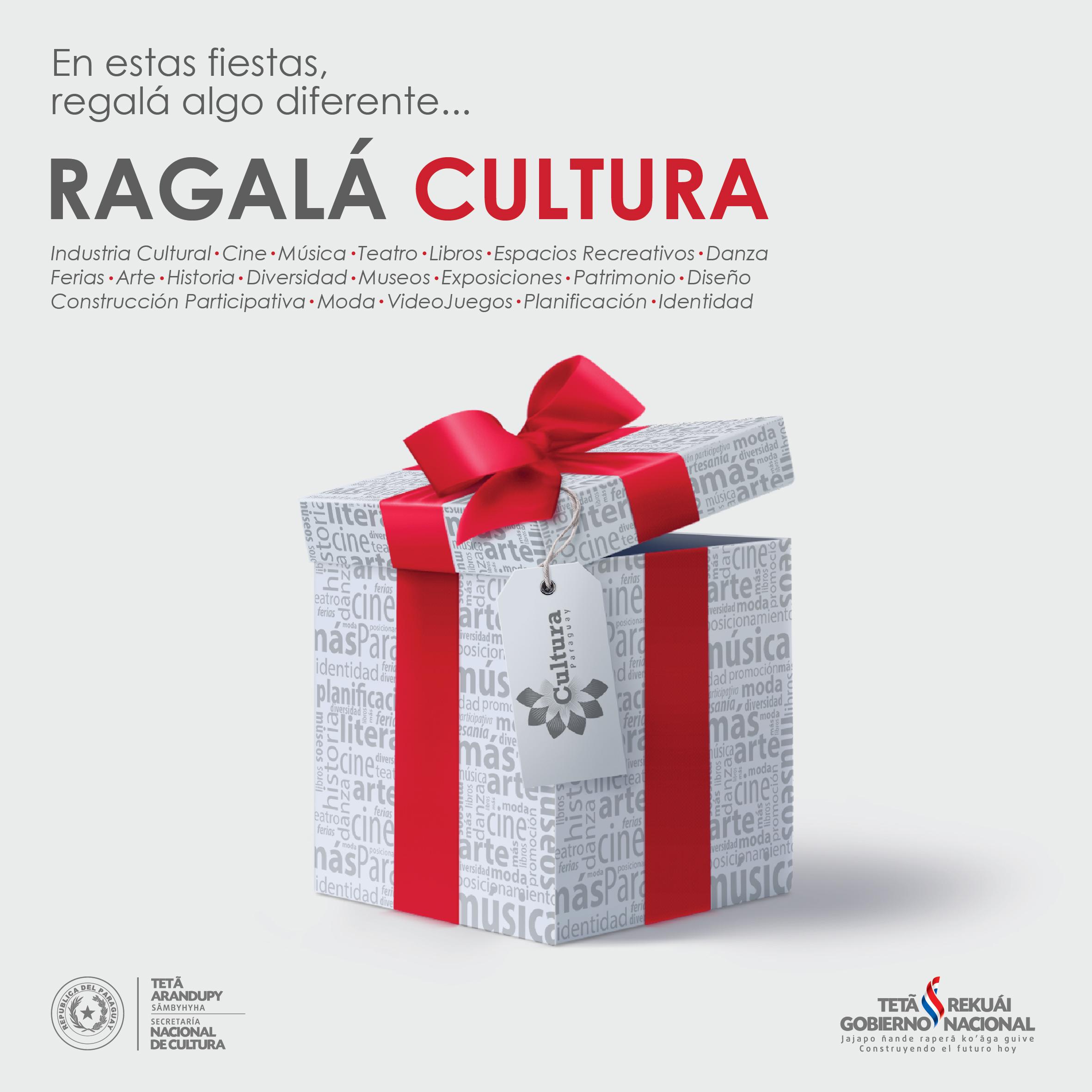 """Campaña """"Regalá Cultura"""" imagen"""
