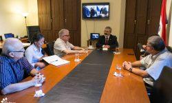 Ministro Griffith se reúne con representantes de la Asociación Amigos del Patrimonio Cultural imagen