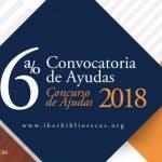 Programa IBERBIBLIOTECAS lanza Convocatoria de Ayudas 2018