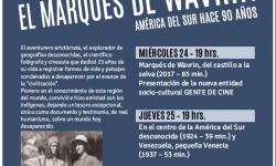 """Muestra de cine """"El Marqués de Wavrin – América del Sur hace 90 años"""" será proyectada en el Archivo Nacional imagen"""