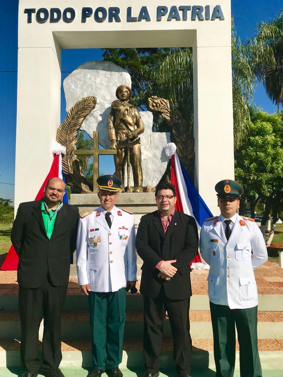 Miembros de la Comisión Sesquicentenario son incorporados a academias internacionales. imagen