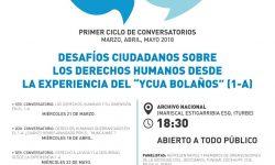 Este miércoles será el conversatorio del 1 – A Ycuá Bolaños imagen
