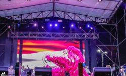 Numerosas familias asistieron a los eventos culturales organizados para las fiestas patrias imagen