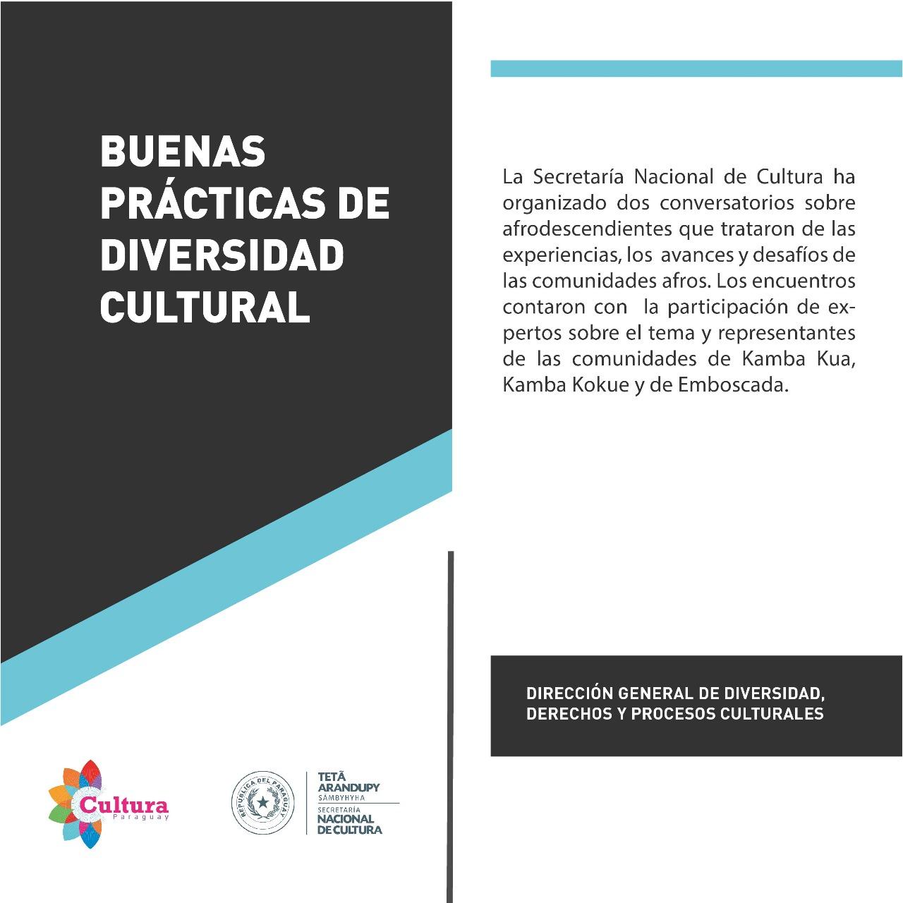Buenas prácticas de Diversidad Cultural imagen