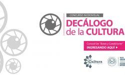 """Concurso de Audiovisual """"Decálogo de la Cultura"""" imagen"""