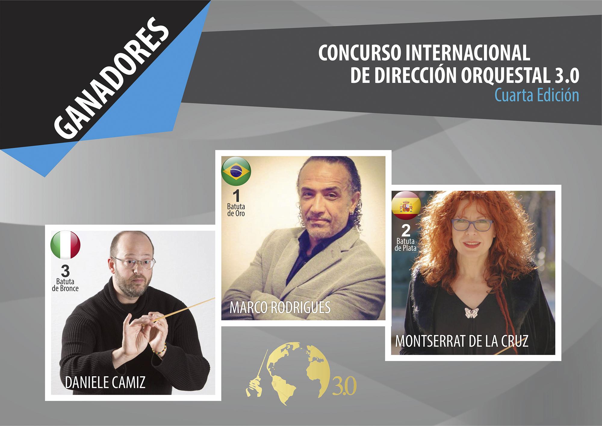 Maestro brasileño triunfa en concurso organizado por la OSN y la Escuela Mº Navarro Lara imagen