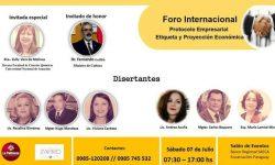 Realizan en Encarnación Foro Internacional de Protocolo Empresarial, Etiqueta y Proyección Económica imagen