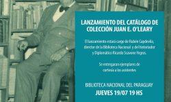 Lanzan Catálogo de Colección Juan E. O'Leary imagen
