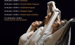 """Artistas salvadoreñas recorrerán el Paraguay con la obra de danza """"Guindas"""" imagen"""