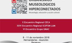 """Siguen abiertas las inscripciones para el Encuentro Internacional """"Organismos Museológicos Hiperconectados"""" imagen"""