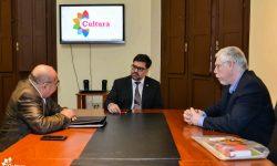 Ministro Rubén Capdevila se reunió con representantes de la Mesa Multisectorial del Libro imagen