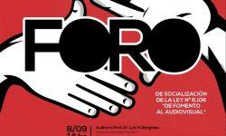 Realizarán Foro sobre socialización de la Ley De Fomento al Audiovisual imagen