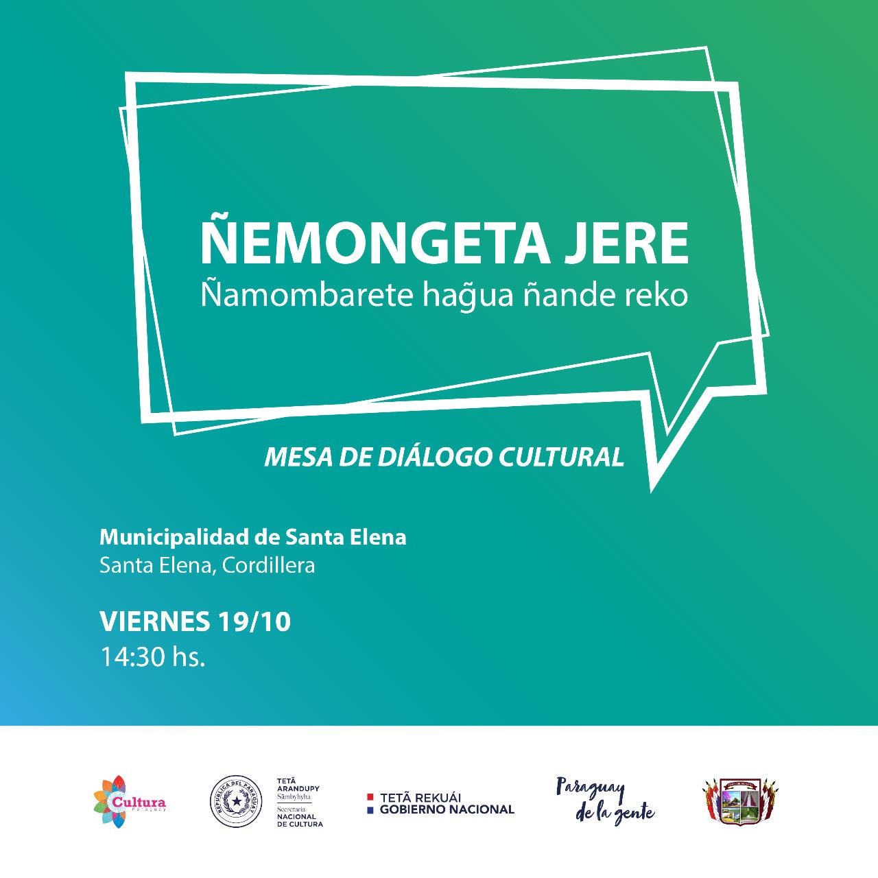 Realizarán el Ñemongeta Jere en Santa Elena imagen