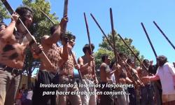 """La SNC acompaña """"la Semana Cultural"""" del Pueblo Aché imagen"""