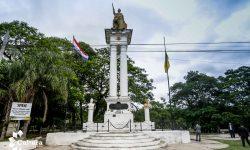 Comitiva interinstitucional visita monumento de la Batalla de Ytororó para la puesta en valor del sitio histórico imagen